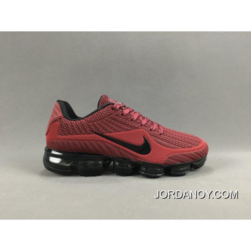 Nike Air Vapormax Flyknit 2018 Red Black Best Price 80 89