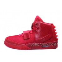"Nike Air Yeezy 2 ""Red October"" Glow In The Dark Hot Now"