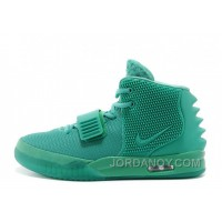 "Discount Nike Air Yeezy 2 ""Green Lantern"" Glow In The Dark 2014 For Sale"