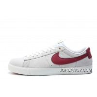 Nike SB Blazer Low GT Women Men White Red 704939 Online