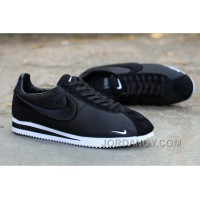 Nike Classic Cortez X LIBERTY Solid Black For Sale