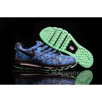 """Authentic 2016 Nike Fingertrap Max NRG """"Camo"""" Turbo Green/Black-Obsidian-Electric Green"""