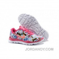 Nike Free TR Fit Kid Pink Orange Shoes New Style