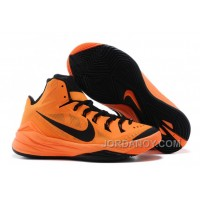 Nike Hyperdunk 2014 Bright Mango/Black For Sale Authentic
