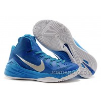 "Nike Hyperdunk 2014 ""Game Royal"" Blue Hero/Metallic Silver-White Christmas Deals"