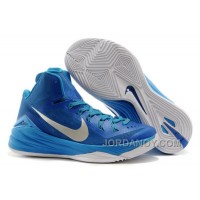"Super Deals Nike Hyperdunk 2014 ""Game Royal"" Blue Hero/Metallic Silver-White"