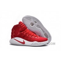 Discount Nike Hyperdunk 2016 Red White