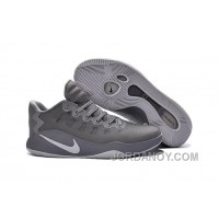 Nike Hyperdunk 2016 Low Grey White Hot Now