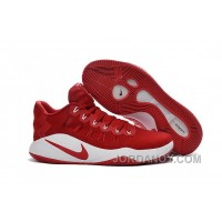Nike Hyperdunk 2016 Low Red White Christmas Deals