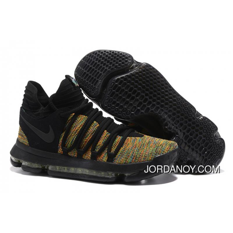 5b743ce10aa2 USD  98.29  324.37. Nike KD 10 Black Gold Men Shoes Kevin Durant Discount  ...