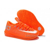 For Sale Nike KD 6 VI Elite Team Orange/Metallic Silver