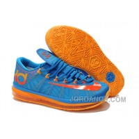 "Cheap To Buy Nike KD 6 VI Elite ""Team"" Photo Blue/Team Orange-Atomic Mango For Sale"