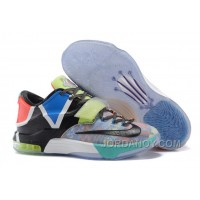 "Nike KD 7 ""What The"" Multi-Color/Horizon-Black Super Deals"