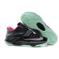 "Nike Kevin Durant KD 7 VII ""Black Yeezy"" Black/Hyper Pink For Sale Hot Now"