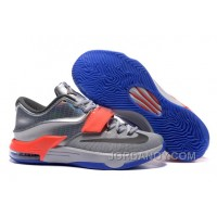"Lastest Nike KD 7 ""All-Star"" Pure Platinum/ Multi-Color-Black"
