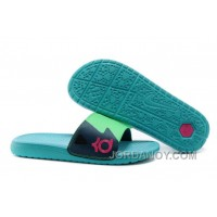 Discount Nike KD Slide Slippers May Green For Sale