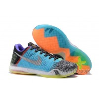 "Authentic 2016 Nike Kobe 10 Elite Low ""What The"" For Sale"