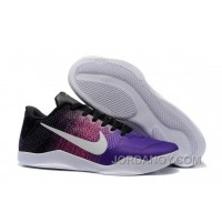 Free Shipping Nike Kobe 11 Black-Purple/Multi-Color For Sale Online