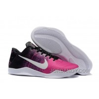 Hot Now Nike Kobe 11 Black/Think Pink-White Shoes For Sale Online