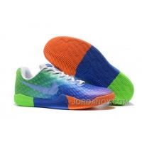 On Authentic Kobe 12 Colorful Green Blue Orange For Sale
