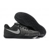 On Real Kobe 12 All Black Grey For Sale