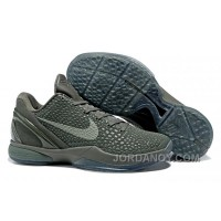 "Nike Zoom Kobe 6 ""Fade To Black"" Basketball Shoes Free Shipping"