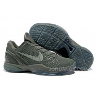 "Nike Zoom Kobe 6 ""Fade To Black"" Basketball Shoes Christmas Deals"