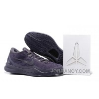 "Hot Now Nike Kobe 8 FTB ""Black Mamba"" Dark Raisin/Dark Raison For Sale"