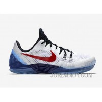 "Nike Kobe Venomenon 5 ""USA"" White/Team Red-Midnight Navy Lastest"