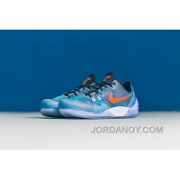 NIKE KOBE VENOMENON 5 Jade Blue Orange Cheap To Buy