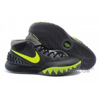 Online Nike Kyrie 1 Black Fluorescent Green Ash