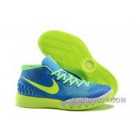 Christmas Deals Nike Kyrie 1 Grade School Shoes Yellow Blue