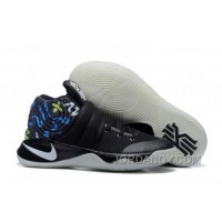 Authentic Nike Kyrie 2 Black/Multi-Color Basketball Shoes