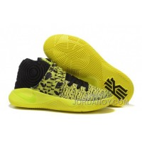Free Shipping Nike Kyrie 2 Yellow/Volt-Black