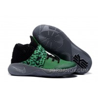 Free Shipping Nike Kyrie 2 Shoes Green Black