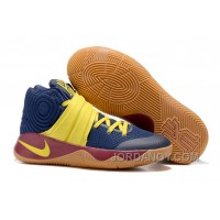 Nike Kyrie 2 Sneakers Blue Brown Cheap To Buy