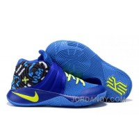 Nike Kyrie 2 Sneakers Navy Blue Authentic