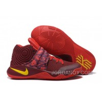 Nike Kyrie 2 Sneakers Red Yellow Free Shipping