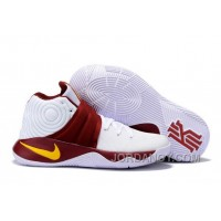 Nike Kyrie 2 Sneakers White Carmine Top Deals