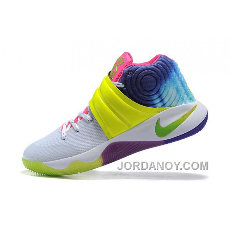 f8bea755afa1 ... Nike Kyrie 2 Sneakers Yellow Rainbow Top Deals ...