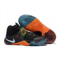 "Lastest Nike Kyrie 2 ""BHM"" Black/Multi-Color/Multi-Color"