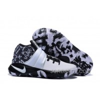 Online Nike Kyrie 2 Black White Basketball Shoes