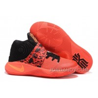 "Super Deals Nike Kyrie 2 ""Bright Crimson"" Bright Crimson/Black/Atomic Orange"