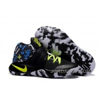 "For Sale Nike Kyrie 2 ""Camo"" Black/Neon Green Basketball Shoes"