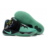 Online Nike Kyrie 2 Mint Green/Black Glow In The Dark Sole