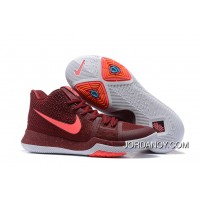 """Nike Kyrie 3 """"Team Red"""" On Sale Copuon Code"""