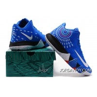 Nike Kyrie 4 Mens Basketball Shoes Royal Blue Free Shipping