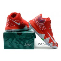 Nike Kyrie 4 Mens Basketball Shoes Red Super Deals