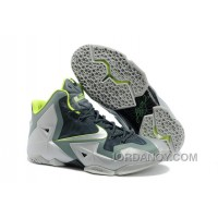 "Authentic Nike LeBron 11 ""Dunkman"" Mica Green/Sea Spray-Dark Mica Green-Volt"