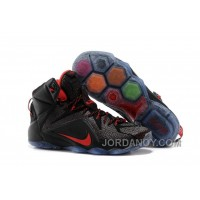 For Sale Nike LeBron 12 Black/Red